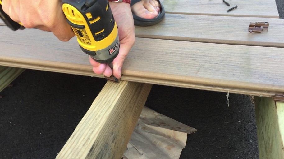 deck board fastener