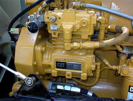 What is the air compressor governor controls